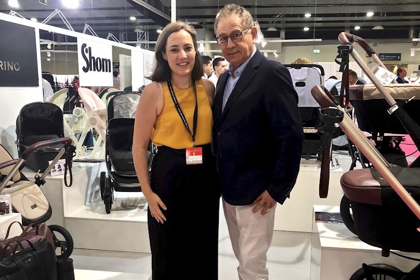 Con Roberto Verino en Puericultura Madrid 2018