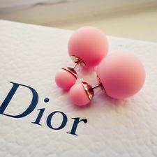 Brincos Dior