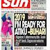 NAIJA NEWSPAPERS: TODAY'S THE DAILY SUN NEWSPAPER HEADLINES [4 NOVEMBER, 2017]