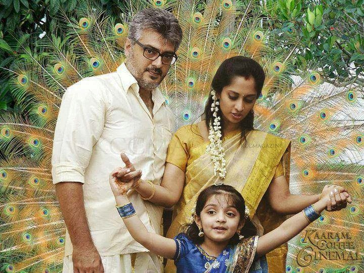 Ajith And Family Hd Image