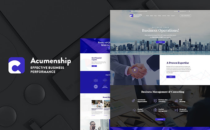 Consulting Agency WordPress Theme