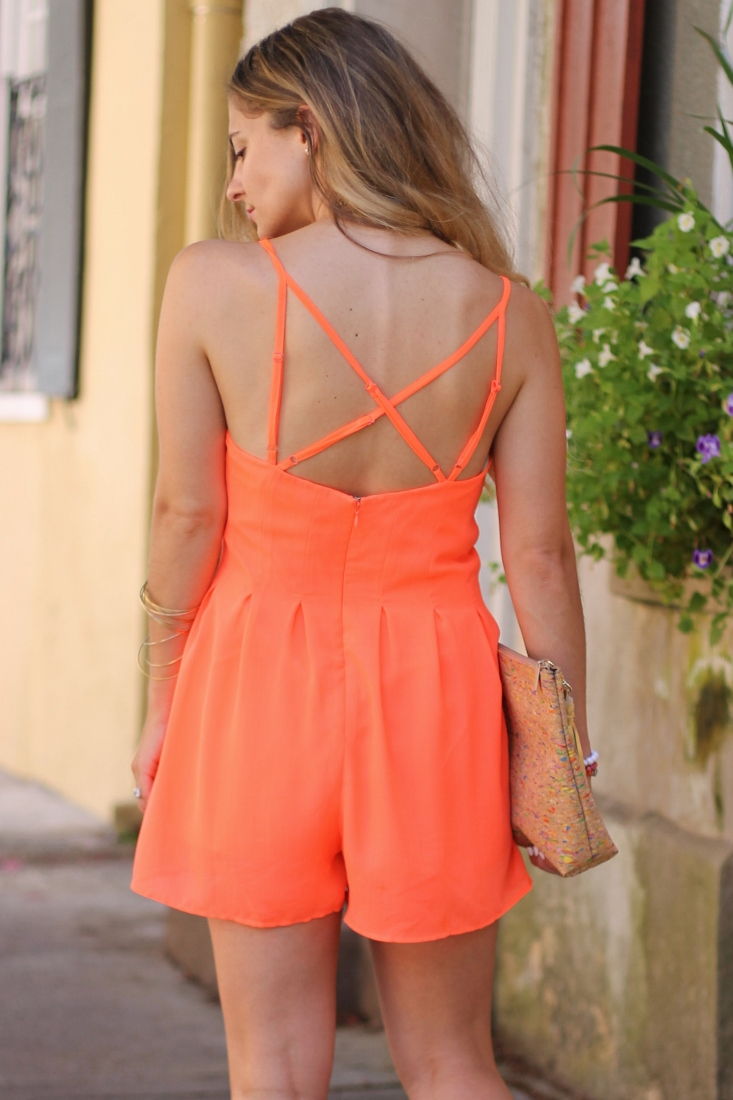 wide leg jumpsuit romper