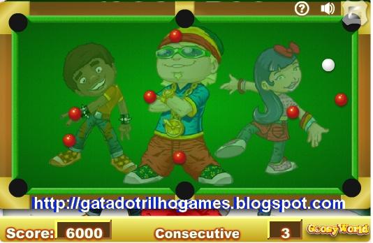 Jogos online de sinuca gratis