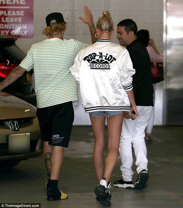 Hailey Baldwin and Justin Bieber pictured out New York after engagement in Bahamas