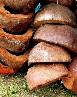 floor polisher made of coconut husk