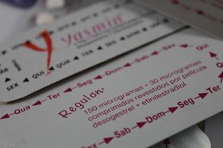 Uso da pílula yasmin® e ausência da menstruação