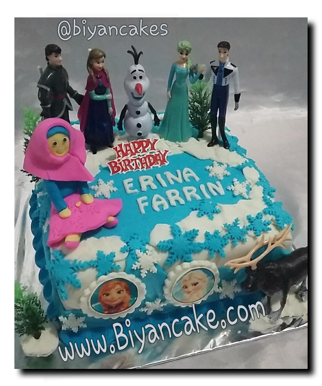 cake Frozen ~ Erina