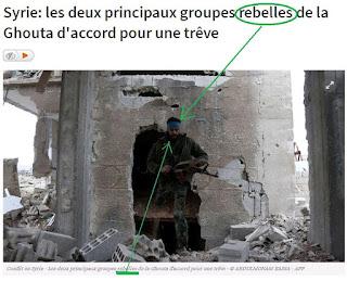 """Syrie : les deux principaux groupes """"rebelles"""" de la Ghouta"""