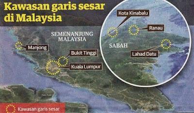 Gempa Bumi di Malaysia