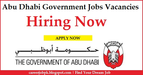 Abu Dhabi Government jobs vacancies Available