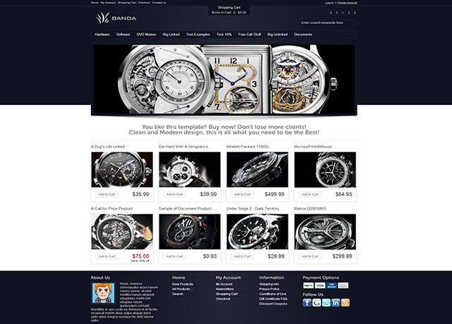 thiết kế web bán đồng hồ giá rẻ