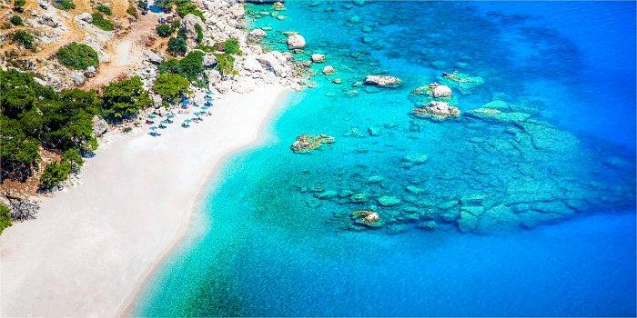 Apella, la spiaggia più famosa dell'isola di Karpathos