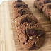 Receita fit integral de cookies de chocolate