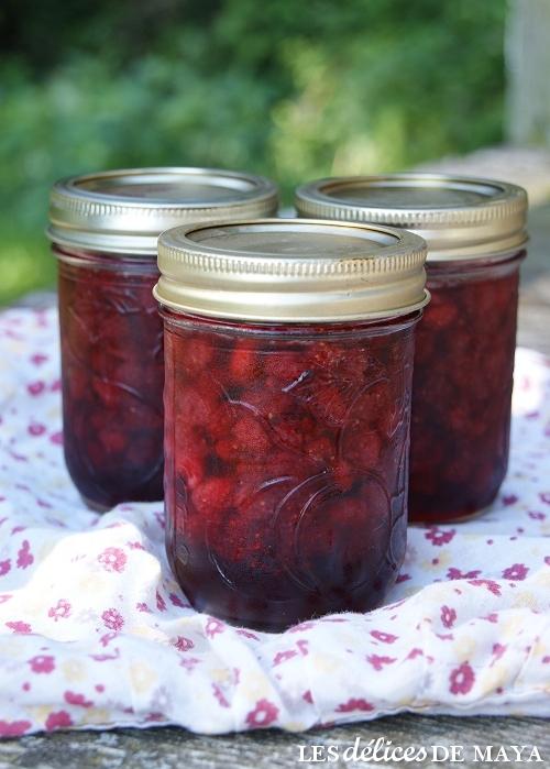 confiture de fraise des champs