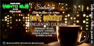 Un Café Concert llegará Por Viento Sur 88.5fm