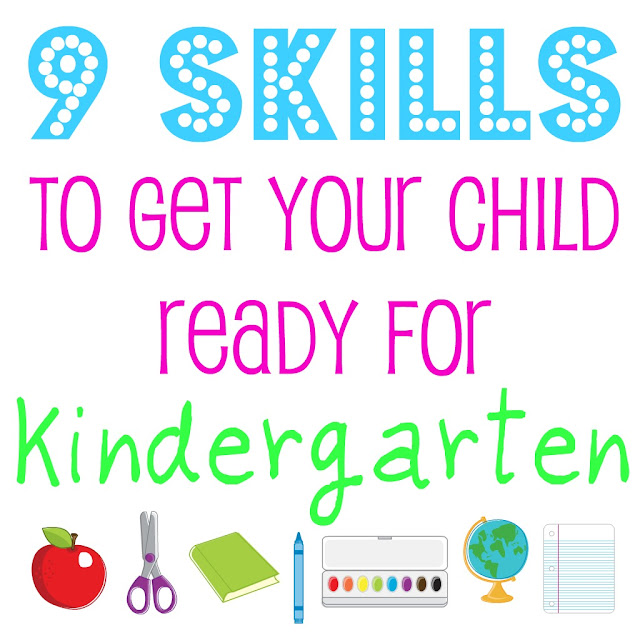 9 Skills To Get Your Child Ready For Kindergarten Bonnie