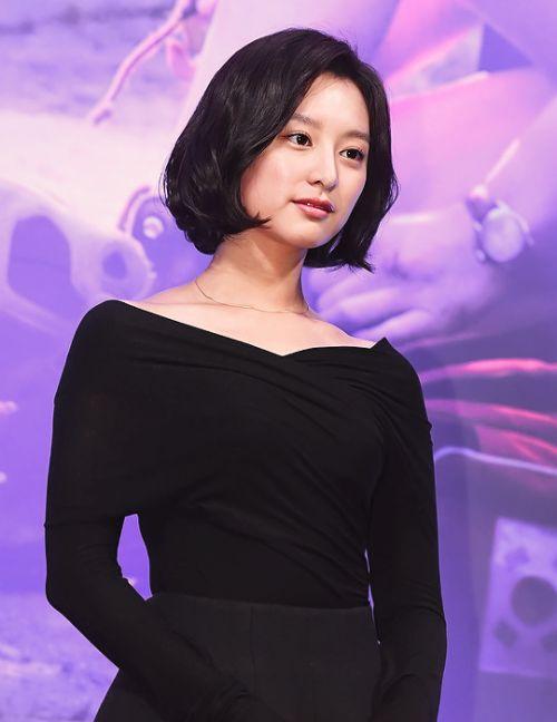 kim ji won Short brown haircut