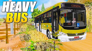 Game Simulasi Bus Android - Heavy bus simulator