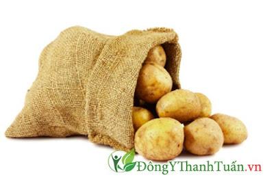 Mẹo chữa đau lưng nhức khớp từ khoai tây
