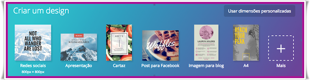 Que é Canva,crie layout,cartões de visitas,projetos,designes exclusivos grátis,imagens profissionais,ferramenta gratuita,capa Facebook,redes sociais,Twitter