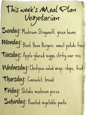 This whole week is dedicated to Meatless Meal Plan!