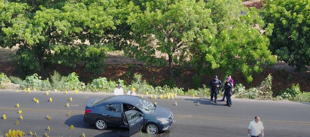 Asesinan a policía estatal en brutal balacera en Culiacán