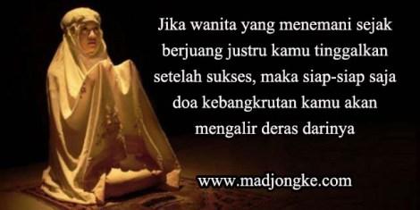doa istri yang ditinggalkan suami setelah sukses