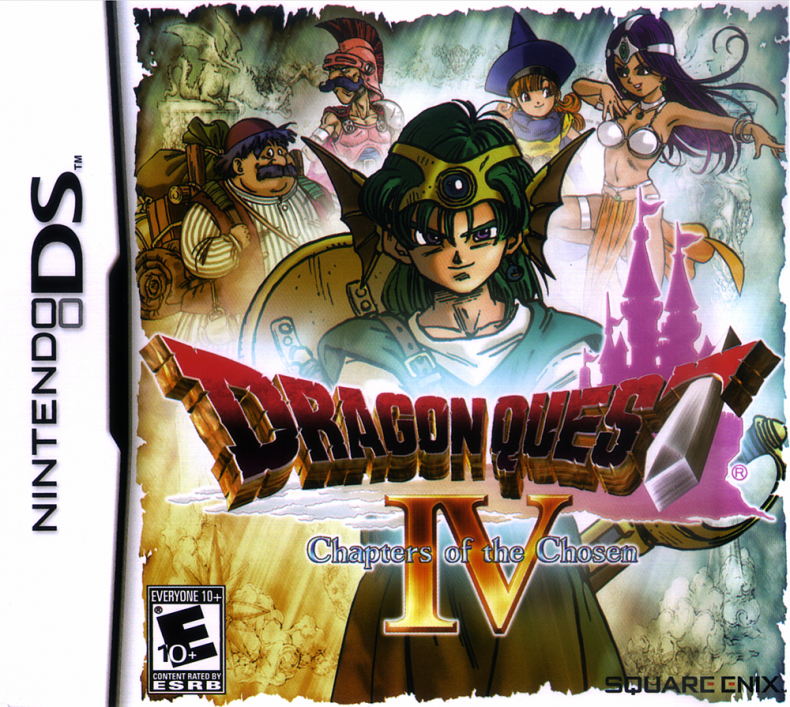 ROMs - Dragon Quest IV - Chapters of the Chosen - NDS - Download