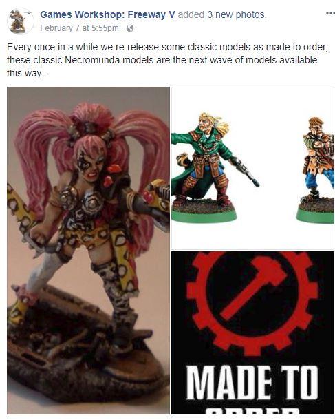 Made To Order Necromunda Coming Faeit 212 Warhammer 40k
