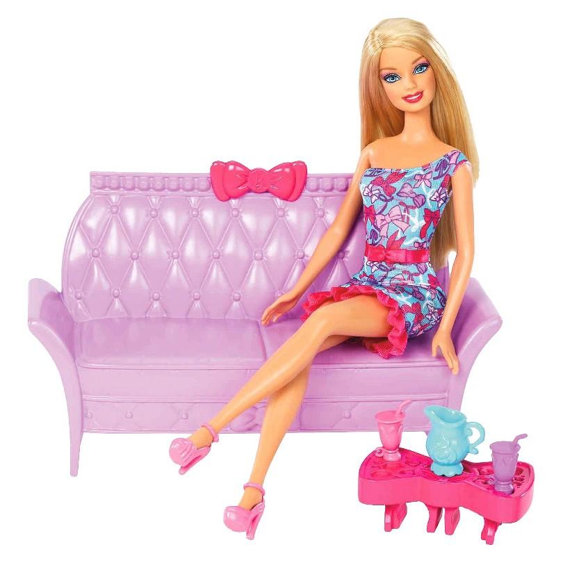 Ken Doll: Barbie Glam Dining Room Furniture Set 2013