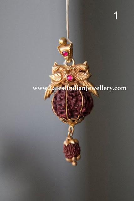 Rudraksh Pendant in Gold