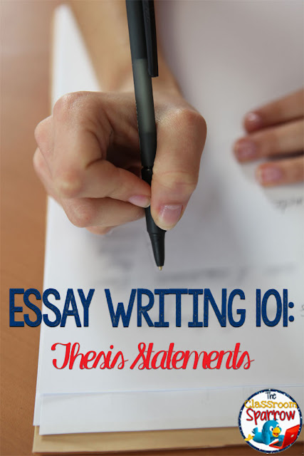Essay 101: How to write an essay, introduction to the thesis statement.