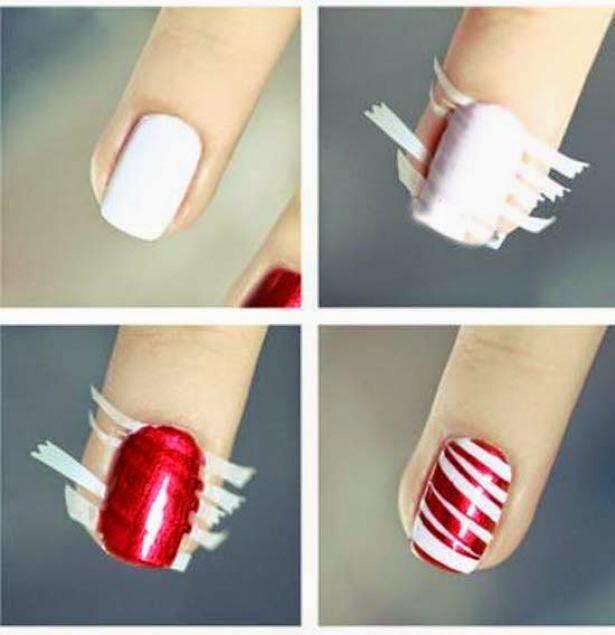 Belleza: Rayas para la decoración de uñas, paso a paso - Reflejos ...