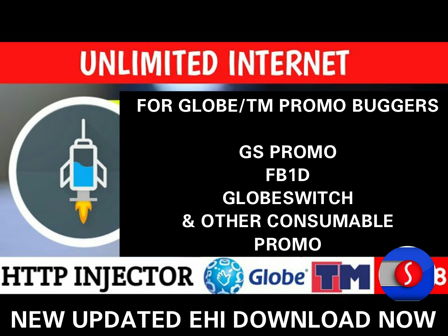 Globe & TM New Ehi Promo BUG Unlimited Internet January 29