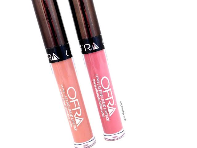 Ofra Liquid Lipsticks Review, Ofra Bel Air Laguna Beach
