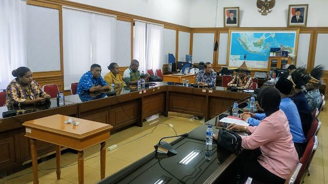 Kisruh Pemilihan Komisioner KPUD Sarmi, Masyarakat Adat Sarmi Mengadu ke KPU Pusat