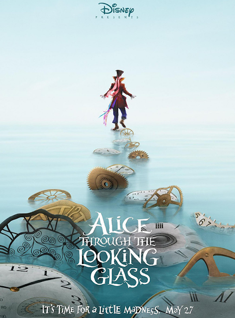 Poster ALICE THROUGH THE LOOKING GLASS Continuarea Alice În Țara Minunilor
