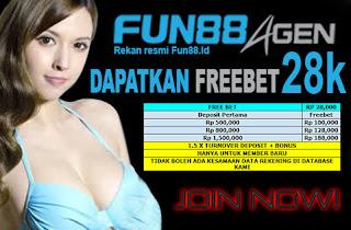 FREEBET | TANPA DEPOSIT 28 K | FUN88AGEN.COM