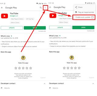 Cara Menonaktifkan Auto Update Aplikasi Secara Otomatis Di Google Playstore