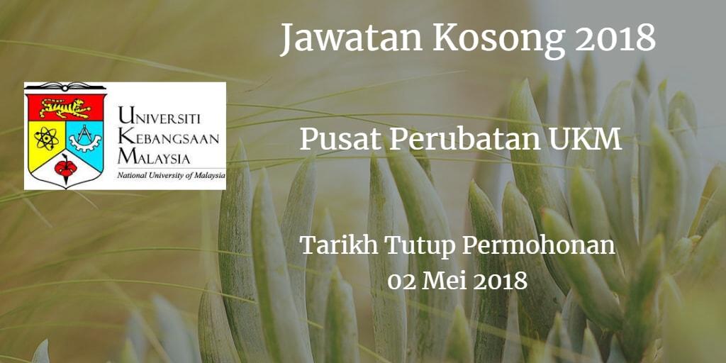 Jawatan Kosong PPUKM 02 Mei 2018
