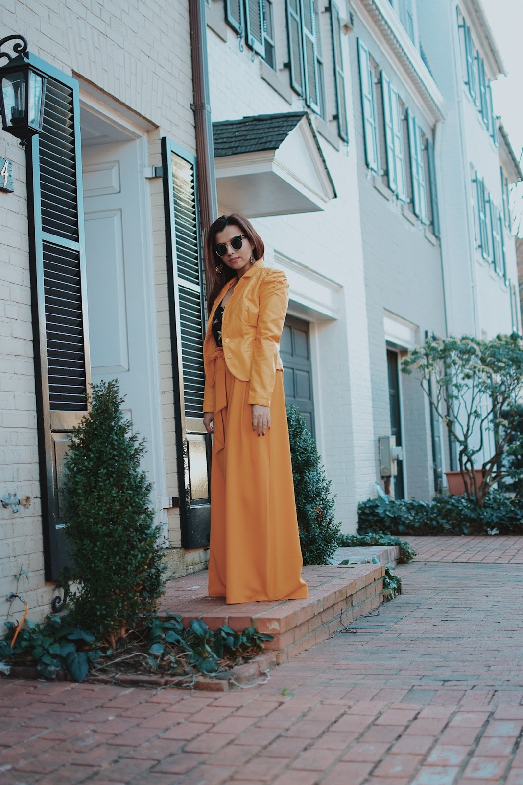 Mustard Yellow Outfit by MariEstilo