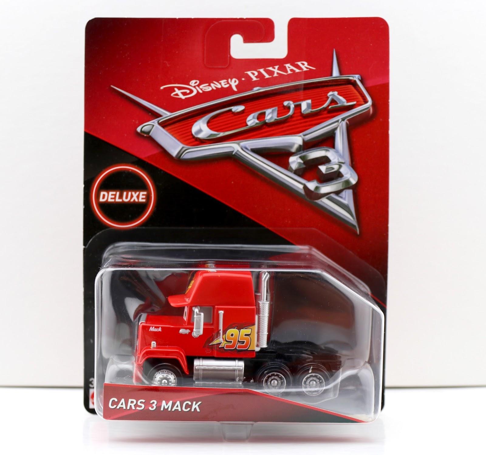 pixar mattel deluxe mack cars 3 diecast