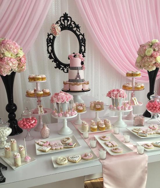 Decoracion Quincea?eras Paris ~ Un tono de rosado pastel muy suave y delicado @tworosesevents