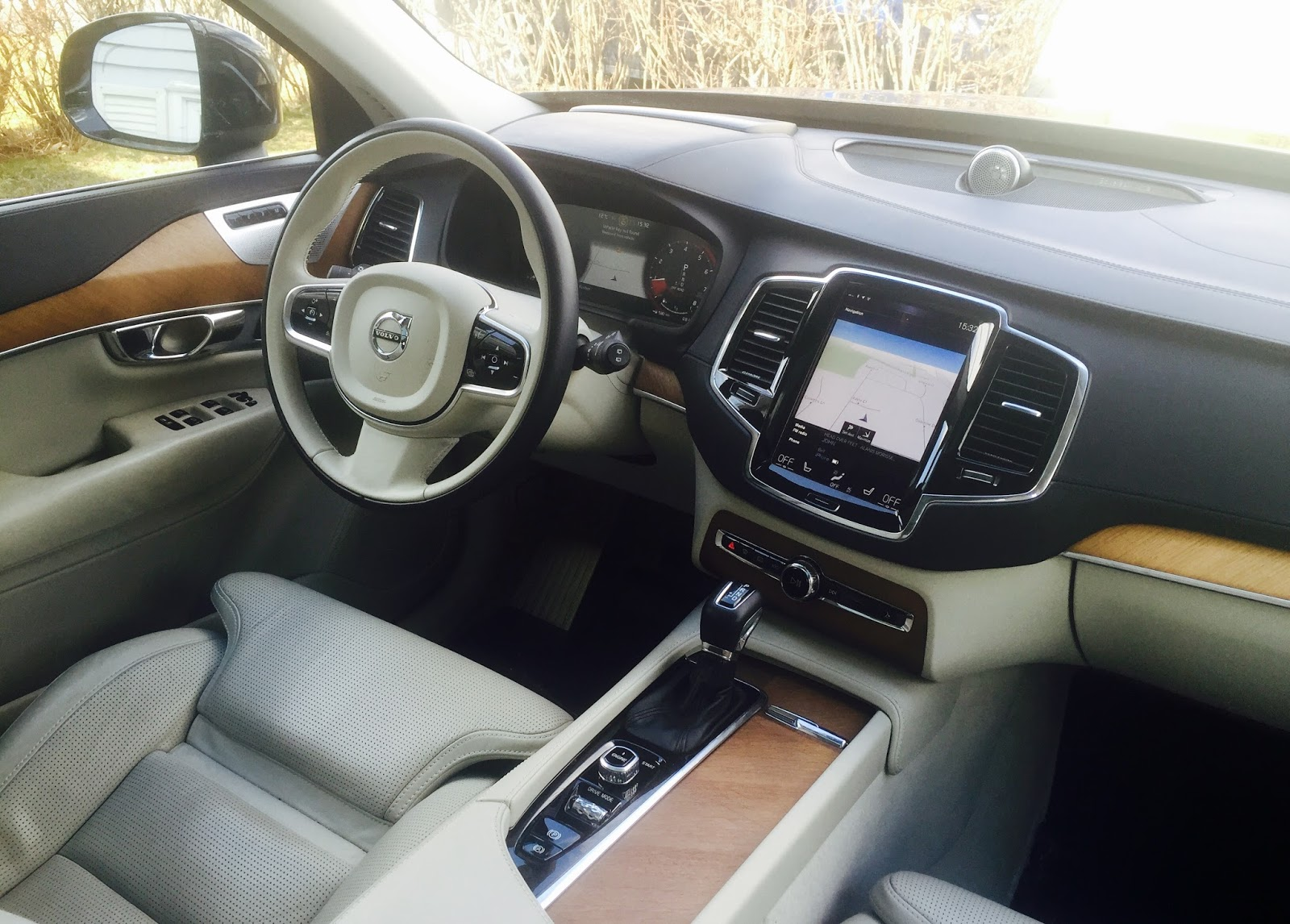 volvo xc90 interior 2016. 2016 volvo xc90 inscription interior xc90