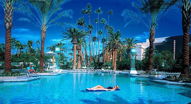 Localização do hotel MGM Grand em Las Vegas