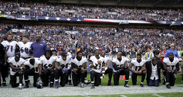 200 NFL players don't stand for anthem