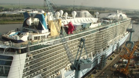 Cruise Diva: Quantum of the Seas Floats Out A SurpriseQuantum Of The Seas Float Out