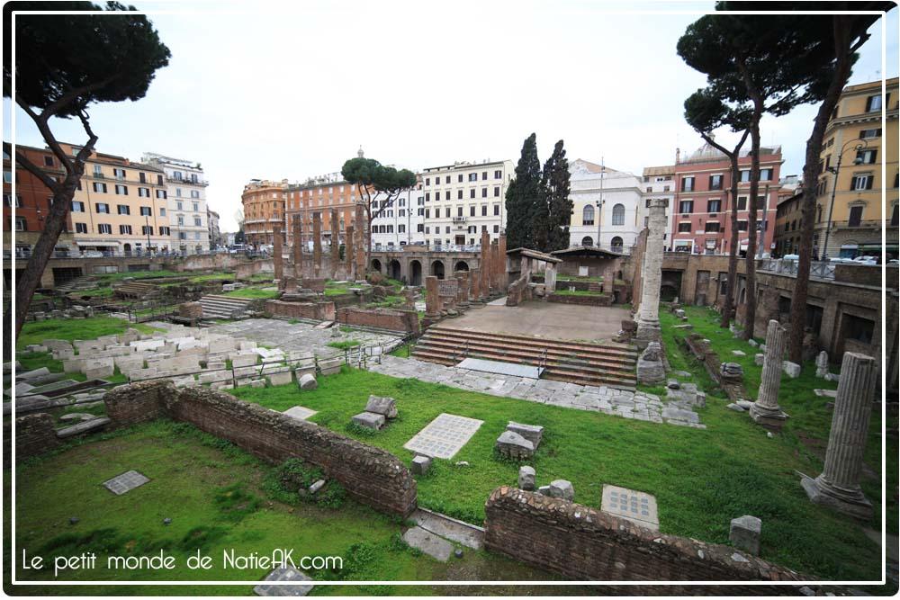 Où se situe le Forum romain ?