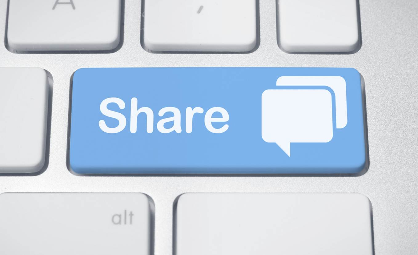 Return On A Share: How Content Shared On Social Media Can Influence Consumers - infographic