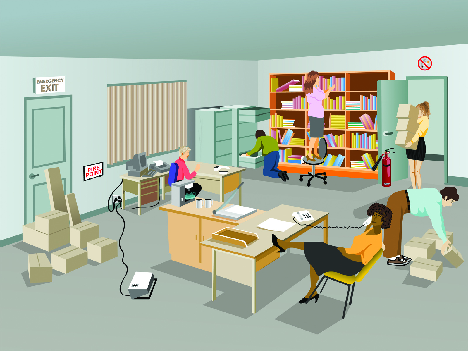 A Few Office Safety Hazards That You May Not Have Thought
